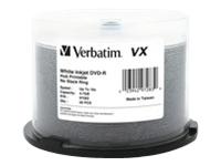 Verbatim Dvd-R 4.7Gb 16X Vx Wht Inkjet Print 50Pk