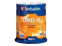 Verbatim Azo Dvd-R 4.7Gb 16X Branded Surface-100Pk