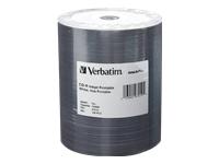 Verbatim 100Pk 700Mb Cd-R 52X Wht Ij Hub Prnt Tape