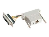 Startech Modular Adapter  Db25 (F) To Rj45(F)