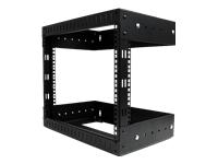 Startech Wall Mount Equipment Rack 8U Adjustable D
