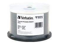 Verbatim Medidisc Dvd-R 4.7Gb 8X Wht Therm Print 5