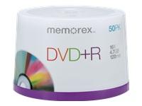 Memorex 50Pk Memorex Dvd+R 4.7Gb 16X Spindle