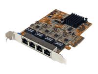 Startech QUAD PORT GETH PCIE NTWK ADPT