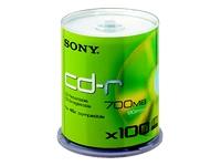 Sony Bulk Cd-R; 100/ Spindle/Axes - 48X