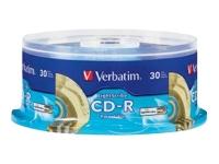 Verbatim 30Pk Lightscribe Cdr 700Mb 80Min 52X Spin