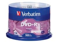 Verbatim AZO DVD+R 4.7GB 16X BRANDED SURFACE-50PK SPIN
