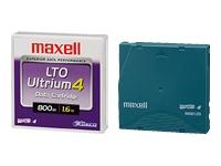 Maxell 1Pk Lto4 800Gb/1.6Tb Data Cart