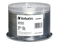 Verbatim 50Pk Dvd+R Dl 8.5Gb 2.4X Datalifeplus Shi