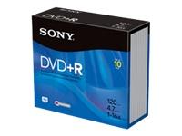 Sony 10Pk Dvd+R 4.7Gb 16X W/ Jc